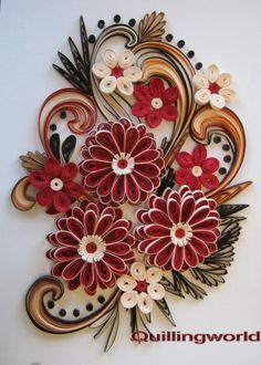 paper quilling flowers wallpapers - Google Search