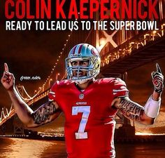 "Believe, ""Un-Faithful!"" Love you, Kap! ❤️❤️❤️ #kaepernick"