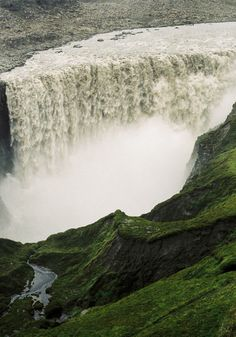 Dettifoss, Iceland. I'm a little bit obsessed with Iceland right now.