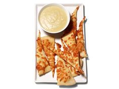Roasted Garlic-Asiago Dip With Cheese Crackers - Anne Burrell