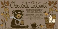 Cositas Ricas Ilustradas por Pati Aguilera Chocolates, Chilean Recipes, Chilean Food, Coffee Painting, Vintage Drawing, Time To Eat, Kitchen Recipes, Diy Food, Stevia