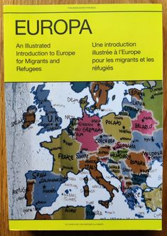 Europa: An Illustrated Introduction to Europe for Migrants and Refugees - Setanta Books Robert Cappa, Jim Goldberg, Ian Berry, Stuart Franklin, Leonard Freed, Christopher Anderson, Herbert List, Reportage Photography