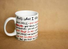 DIY: valentine sharpie mug