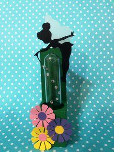 Porta Tubete + Tubete Tinker Bell
