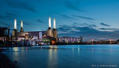 Whoever switched the lights back on at Battersea Power Station deserves a medal. An essential part of the London's skyline!