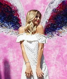 d43411da70 global angel wings project colette miller. See more. Angel Wings Wall