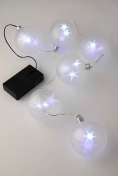StarSphere LED Battery Operated String Lights 2.75ft                                                                                                                                                                                 More