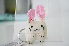 Bunny keyring
