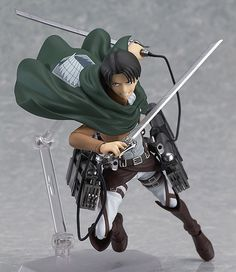 Attack on Titan Figma Figur Levi 14 cm Attack on Titan - Hadesflamme - Merchandise - Onlineshop für alles was das (Fan) Herz begehrt!
