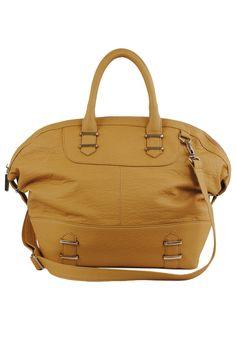 R & J Handbags Bianca Tote In Mustard