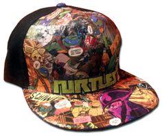 Ninja Turtles Hat. Teenage Mutant Ninja by MadHatterDesigns87 845fca3031d0
