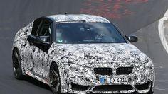 #BMW M4 Coupé e BMW M3: foto spia
