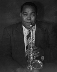 Charlie Parker by William Claxton.