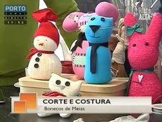 Rubrica semanal sobre Costura Criativa no Porto Canal com a participação da Riera Alta - www.rieraalta.com - Edição #114 - Aprenda a fazer bonecos de meia co...