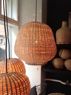 TIKAU Tune bambu lights, Tikau shop summer season 2013