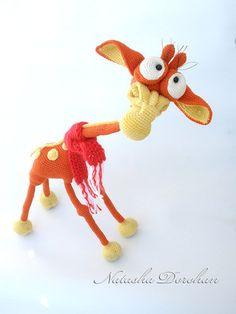 Giraffe Crochet pattern PDF file. $12.00
