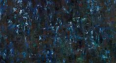 Dark Blue abstract art https://www.etsy.com/listing/175843584/fine-art-giclee-canvas-print-from