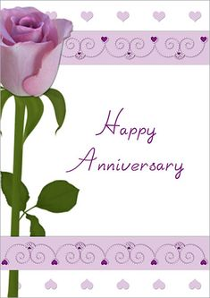 free downloadable anniversary cards