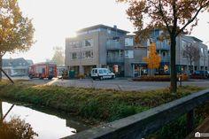 Vanmorgen rukten de hulpdiensten om circa 9.15 uur uit naar De Wiekslag aan de Langestraat.