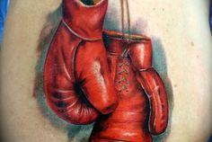 Boxing Gloves -  Monster Ink Tat 2, Sacramento
