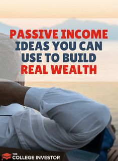 Here are thirty passive income ideas to choose from. Some require monetary investment and others need time, but all build wealth. via @collegeinvestor Earn More Money, Ways To Save Money, Money Saving Tips, Make Money Online, How To Make Money, Money Hacks, Money Tips, Thing 1, After Life