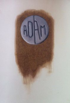 Adam pill- oil on paper