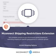 Get complete control on your #eCommerce 🛒 global #Shipping 🚚 by #RestrictingShipping 🚫 for specific geographical 🗺️or #CustomerGroups using our #Magento2 #ShippingRestrictionsExtension.🚀 Download now ⬇️: Ecommerce, Extensions, E Commerce, Sew In Hairstyles, Hair Extensions, Sew Ins