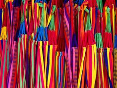 Hammocks Displayed for Sale at Market, Barranquilla, Colombia