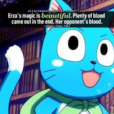 The source of Anime & Manga quotes Jerza, Nalu, Fairytail, Erza Scarlet, I Love Anime, Awesome Anime, Fairy Tail Happy, Fairy Tail Quotes, Fairy Tail Guild