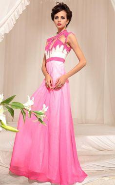 前後のトップデザインが特徴!キューティハニーのようなロングドレス♪ - ロングドレス・パーティードレスはGN|演奏会や結婚式に大活躍!