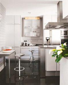 cozinha toda branca