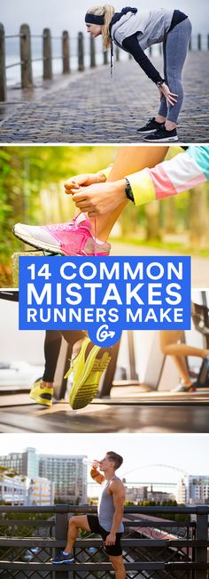 Here are 14 of the most common mistakes beginner runners make—and even some ve… - Fitness Tips Training Plan, Running Training, Training Tips, Running Humor, Sports Training, Running Gear, Training Equipment, Running Shoes, Half Marathon Training