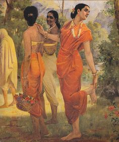 Shakuntala - Wikipedia |Raja Ravi Varma Shakuntala