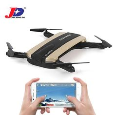 JXD 523 523W RC Drone Tracker Foldable Mini Dron With Wifi FPV HD Camera Altitude Hold Selfie Quadcopter Helicopter Outdoor Toys //Price: $51.76 & FREE Shipping //     #GAMES
