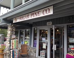 The Sugar Pine Company, Canmore, Alberta, Canada. Row by Row stop. Favorite all around shop this year! July 2015.