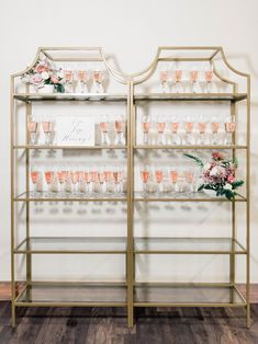 Gorgeous champagne set for your big day! Diy Wedding Bar, Wedding Tables, Austin Stone, Highland Village, Table Set Up, African Print Dresses, Grand Staircase, Display Ideas, Modern Rustic