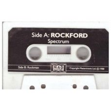 Rockford/Rockman for ZX Spectrum from M.A.D/Mastertronic