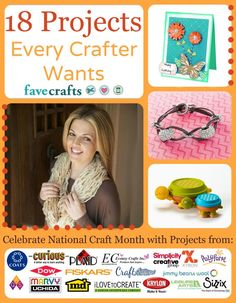 """18 Projects Every Crafter Wants"" free eBook"