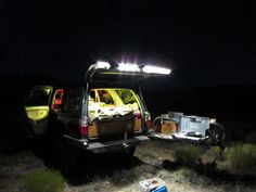 camping with the 4runner