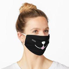 """Happy Smiley Kitty "" Mask by ind3finite   Redbubble Halloween Masks, Happy Halloween, Halloween Designs, Halloween Movies, Funny Halloween, Halloween Shirt, Halloween 2020, Halloween Ideas, Koi"