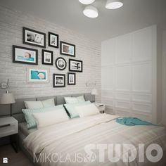 Modna sypialnia - zdjęcie od MIKOŁAJSKAstudio - Sypialnia - Styl Skandynawski - MIKOŁAJSKAstudio