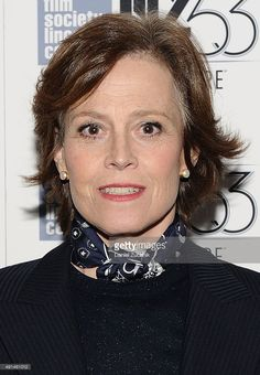 Actress Sigourney Weaver attends the 53rd New York Film Festival premiere of 'Ingrid Bergman In Her Own Words' at The Film Society of Lincoln Center, Walter Reade Theatre on October 5, 2015 in New York City.