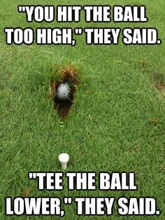 Veeeeeerry Funny. >:( | Rock Bottom Golf #RockBottomGolf