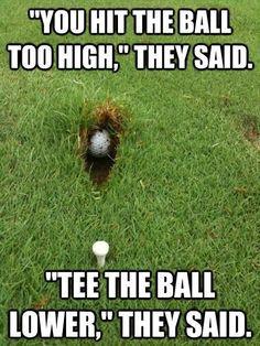 Veeeeeerry Funny. >:( | Rock Bottom Golf #RockBottomGolf
