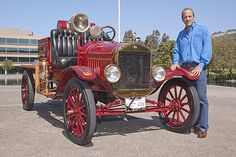 1923 Model T Ford Fire Truck--awesome ride!