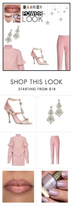 """""""Untitled #333"""" by bainsey1 on Polyvore featuring Dolce&Gabbana, Ben-Amun, Mother of Pearl, Esme Vie and Too Faced Cosmetics"""