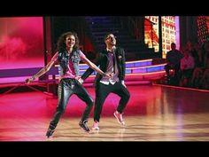 Zendaya Coleman & Val Chmerkovskiy - Hip Hop - Week 9 - YouTube