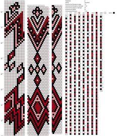 RAINBOW BEAD: beadwork, charts, MK