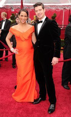 paula's dress (& robin doesn't look too shabby, either!)