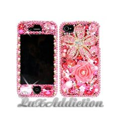 SWAROVSKI Crystal bling case for all phone device models ❤ liked on Polyvore
